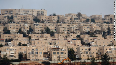 A general view taken on December 28, 2016 shows buildings in Ramat Shlomo, a Jewish settlement in the mainly Palestinian eastern sector of Jerusalem.  / AFP / AHMAD GHARABLI        (Photo credit should read AHMAD GHARABLI/AFP/Getty Images)