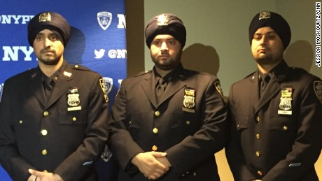 NYPD Sikh officers