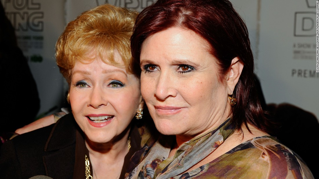 Carrie Fisher and Debbie Reynolds public memorial