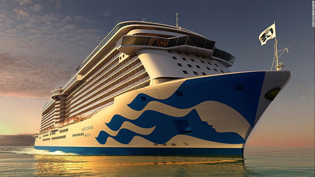 Princess Cruises' new Royal Class ship, Majestic Princess, is a 3,560-passenger ship launching in 2017.