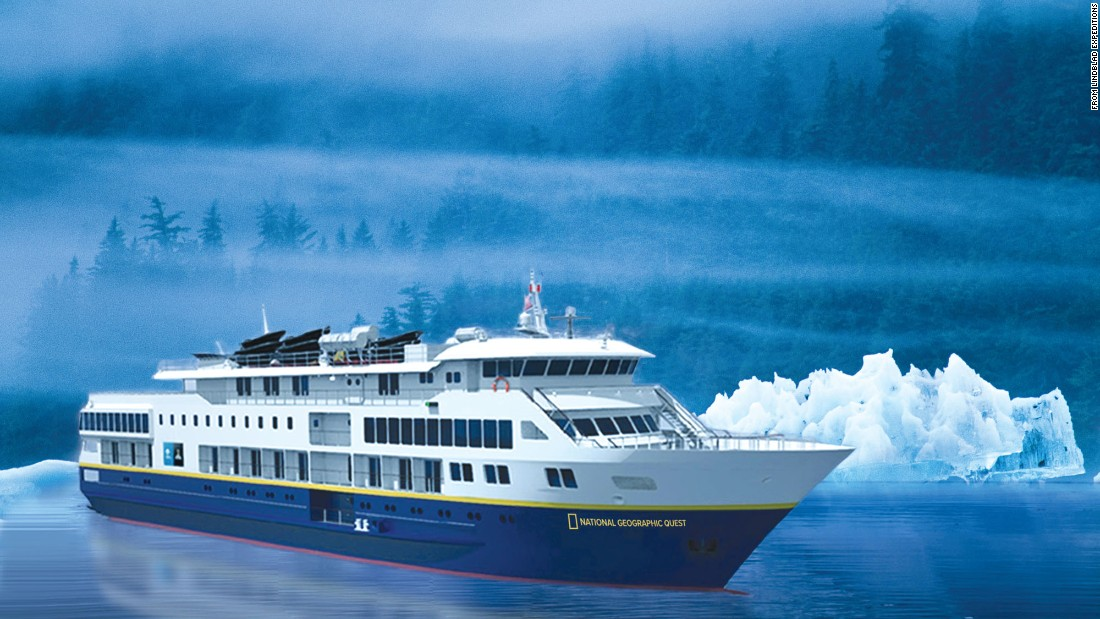 Intimacy and exploration will be the hallmarks of the new National Geographic Quest, a 100-passenger vessel ready to launch in June 2017.