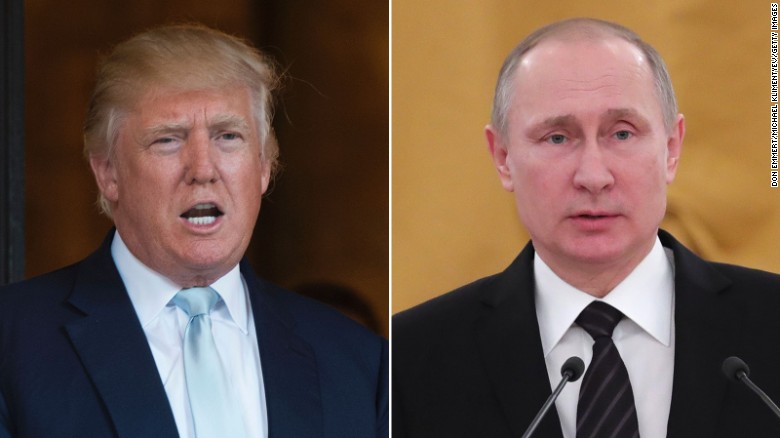 Putin congratulates Trump in statement