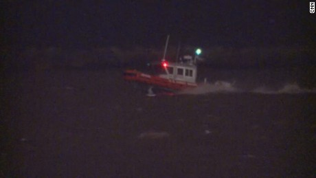 A Coast Guard boat scoured Lake Erie last week for a missing plane carrying six people
