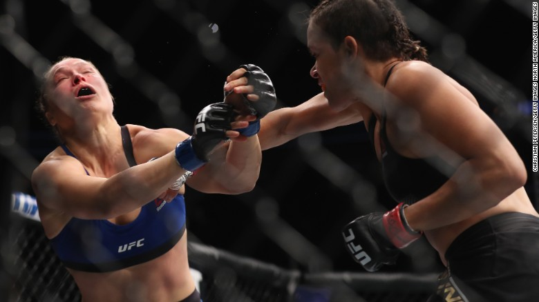 Ronda Rousey knocked out in 48-second fight