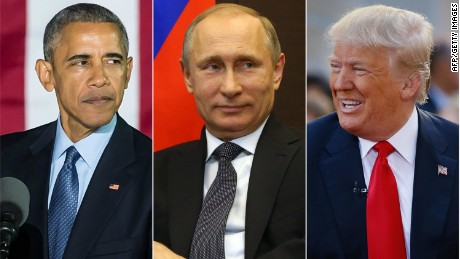 Obama & Trump's very different Putin approachs