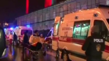Istanbul nightclub attack: Manhunt underway for shooter