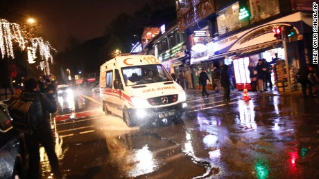 Attack at Istanbul nightclub