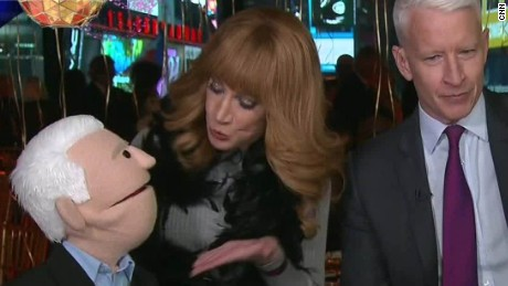 new years eve anderson cooper kathy griffin puppets sot_00003908.jpg