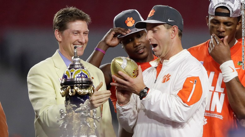 Clemson heading back to the College Football Playoff national championship game