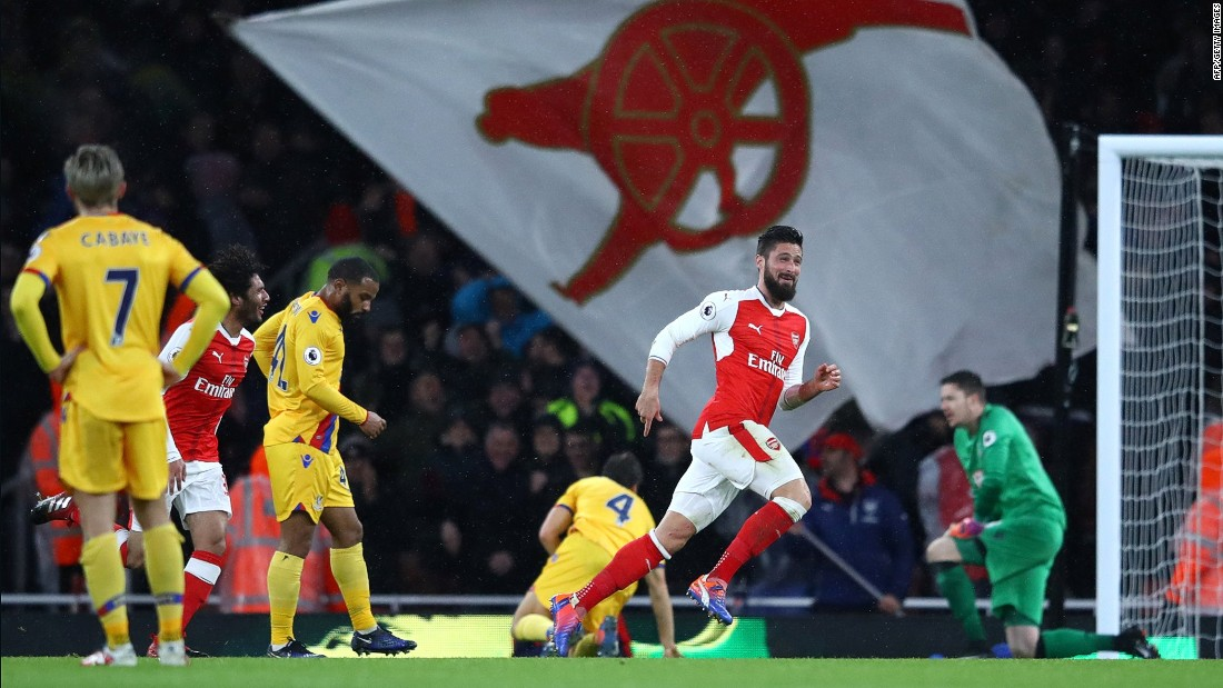 "After the game, Giroud was modest about his wonder goal. ""I have maximum luck,"" the French international said."
