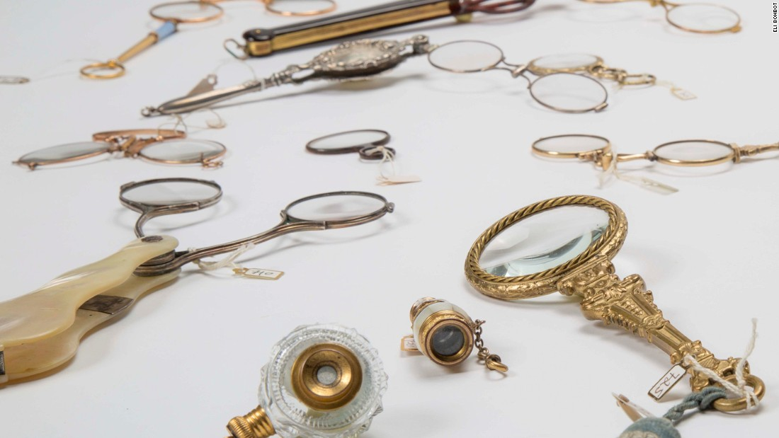 This is the first time Claude Samuel's extensive collection of eyewear has been presented in a museum.