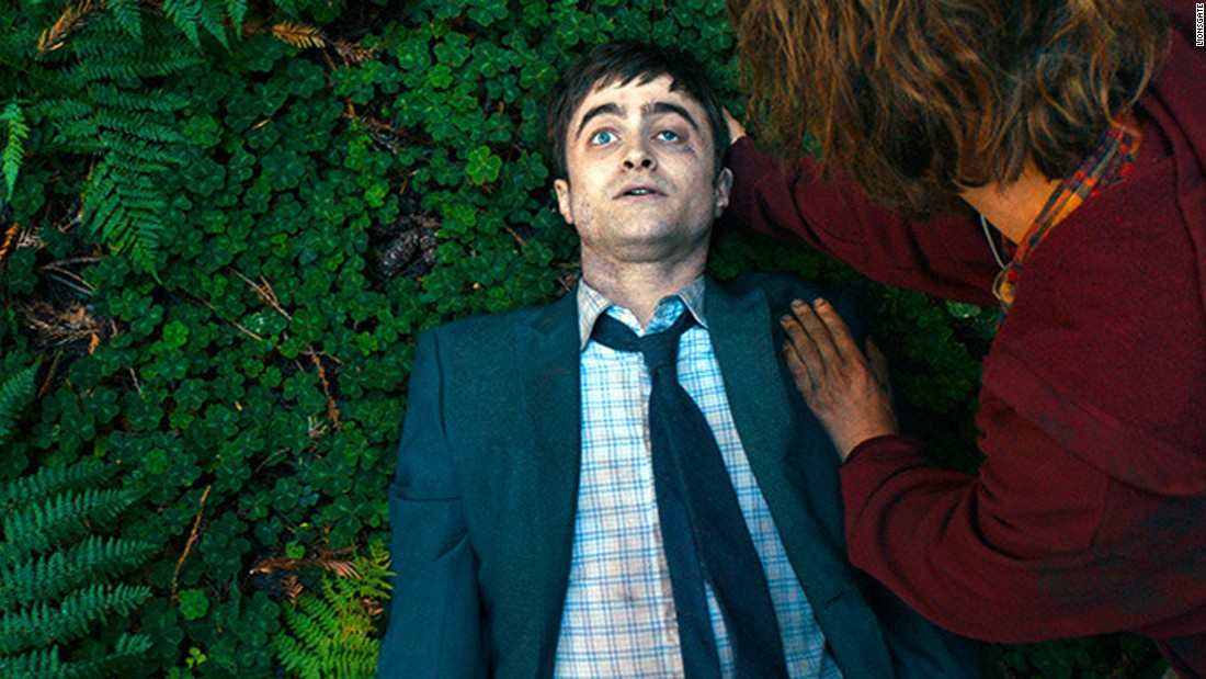 "<strong>""Swiss Army Man""</strong>: A man stranded on an island befriends a dead body -- played by Daniel Radcliffe. <strong>(Amazon Prime)</strong>"