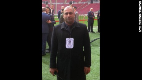 Security guard Fatih Cakmak was one of the first killed in the nightclub attack in Istanbul.