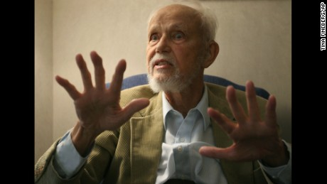 "Huston Smith in 2005; the author of ""The World's Religions"" died December 30 at 97."