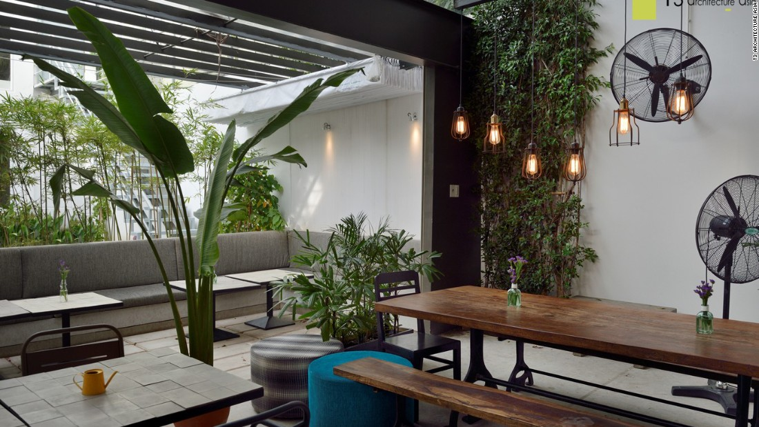 KOKOIS Concept Store bring lots of plant life inside to keep things feeling cool and fresh.