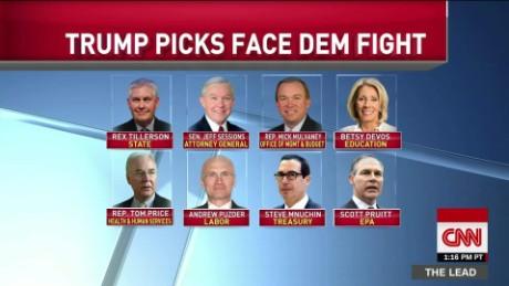 democrats targeting trump picks congress 115th confirmation bash lead_00011824