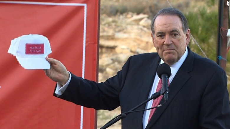 Mike Huckabee: No such thing as a settlement