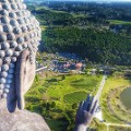 dronestagram 2016 Big Buddha Ushiku Daibutsuby cliechti