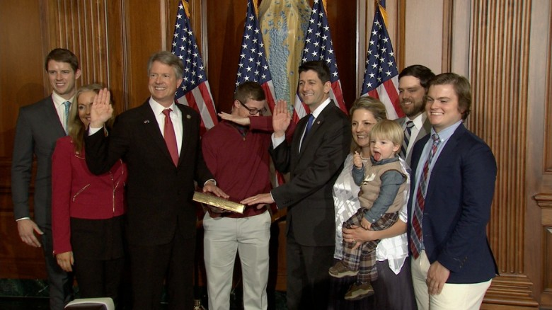 Kid dabs during photo op, Paul Ryan stops him