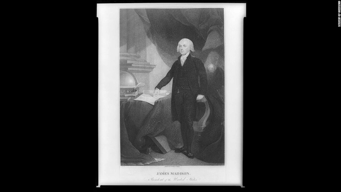 James Madison, the fourth US president, was inaugurated in 1809 and was the first to hold an inaugural ball to celebrate.