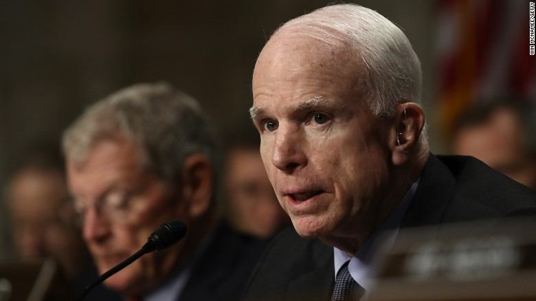McCain still undecided on Tillerson vote