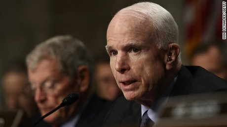 How Trump came around to McCain on foreign policy