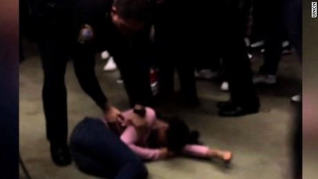 Video shows officer body slamming girl
