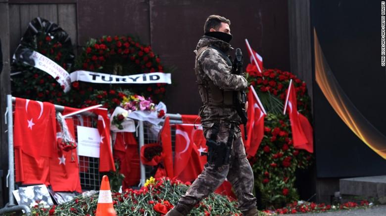 Istanbul police arrest nightclub suspect
