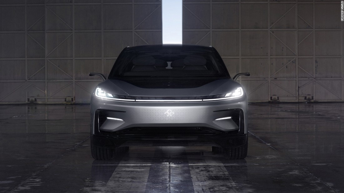 Faraday Future, a California-based electric car start-up, unveiled its first consumer model, the FF91, at the 2017 Consumer Electronics Show (CES) in Las Vegas.