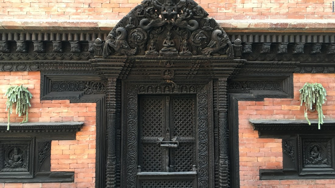 The founder of Dwarika's built his hotel in the red-brick style of the Kathmandu Valley's Durbar Square palaces.