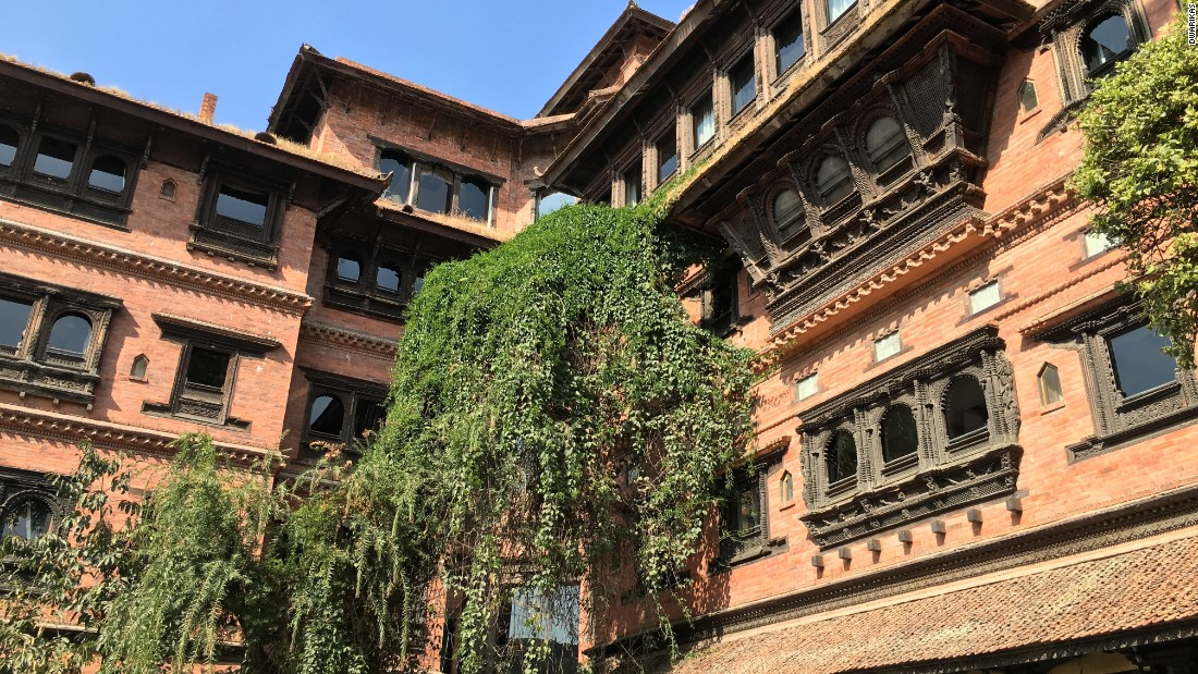 Originally built in the 1970s, this five-star property features Newari crafts and architecture dating all the way back to the 13th Century.
