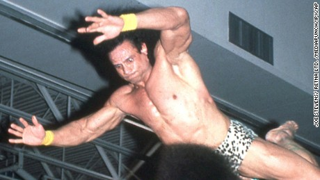 "New York, NY:September 2, 2015: Jimmy ""Superfly"" Snuka has been charged with the 1983 murder of his girlfriend Nancy Argento. Snuka pictured in file photos.  (C)Joe Stevens/ Retna Ltd. /MediaPunch/IPX"