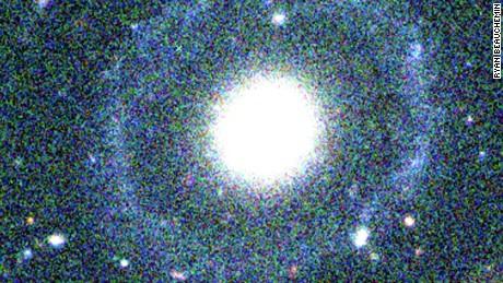 A false color image of PGC 1000714 New Galaxy.