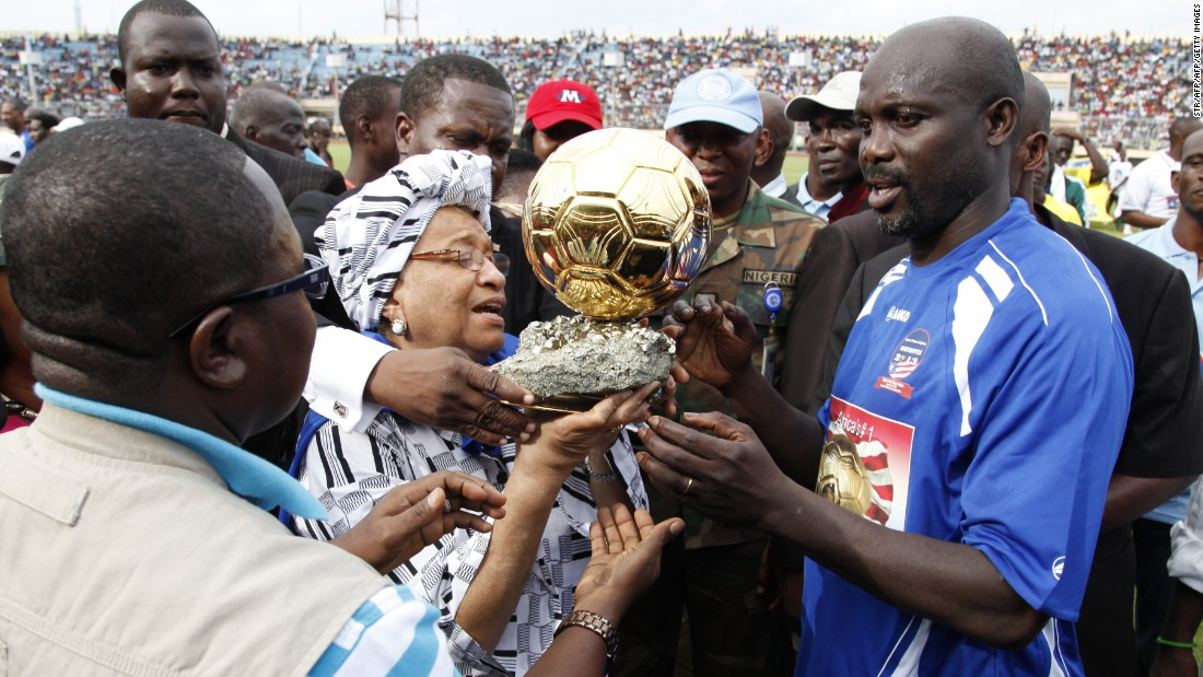 Former world footballer of the year George Weah could add another notable triumph this year when he stands in the Liberian presidential elections.
