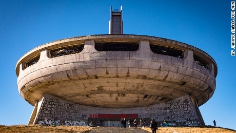 Buzludzha Monument - Bulgaria's UFO, communist monument