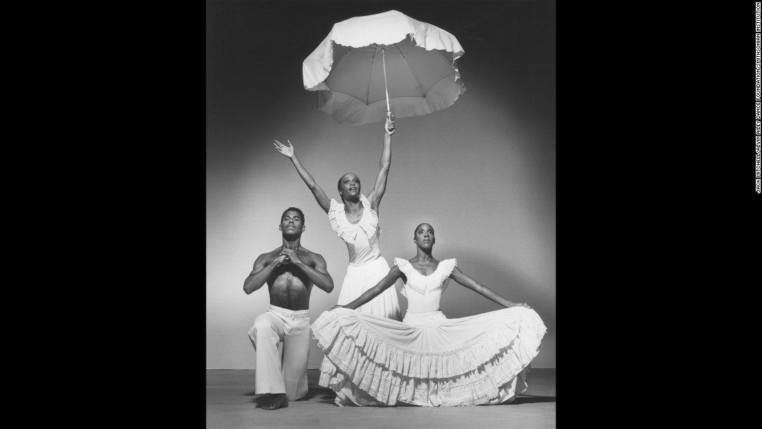 "Don Bellamy, Robinson and Nasha Thomas in ""Revelations."" To this day, Ailey's vision for what dance could be continues to attract all kinds of people from around the world. ""He was able to generate interest in what modern dance could be, concert modern dance could be, and then have people flock to it because they felt involved,"" Jamison said. ""Because they felt emotionally involved, spiritually involved and were lifted when they left the theater. Well, the dancers feel that way when they're dancing. There are not very many people that can give you that -- that can lift you spiritually, physically, emotionally. He gave that to all of us."""