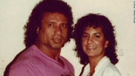 "Jimmy ""Superfly"" Snuka with his late ex-girlfriend Nancy Argentino, who was killed in 1983."