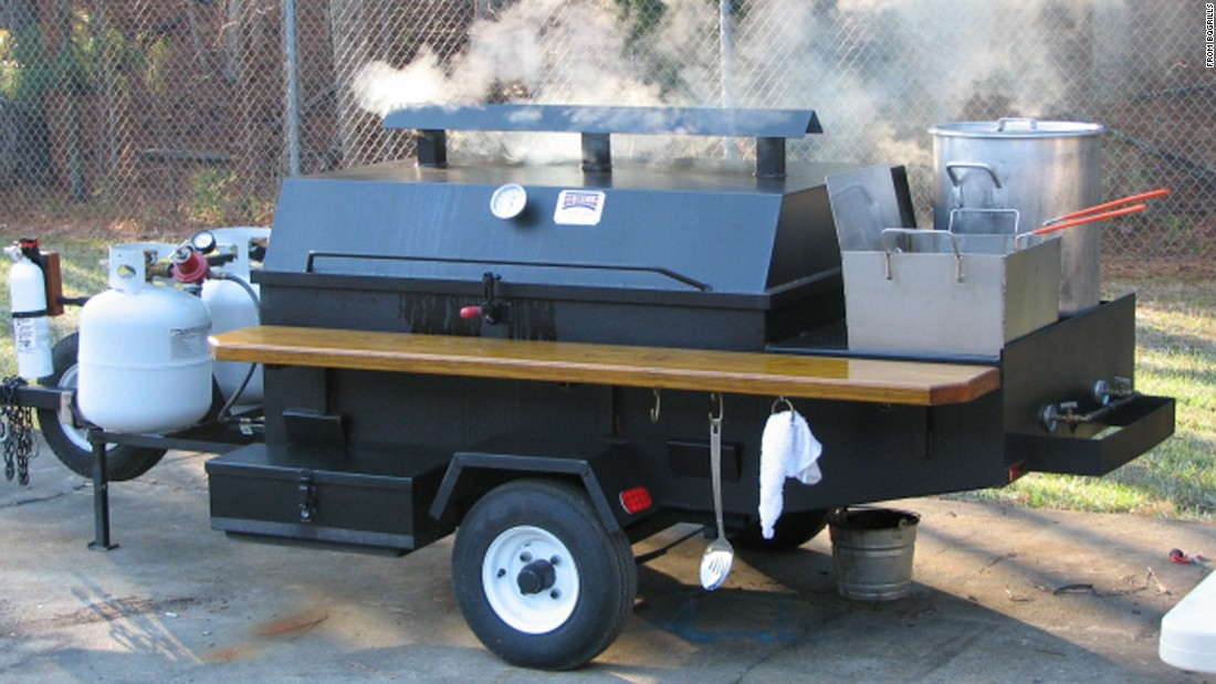 "Are you a griller or a smoker? Both you say? <a href=""http://www.bqgrills.com/"" target=""_blank"">BQ Grills' </a>line of towable smokers, grills and pig cookers are a great option for serious tailgate chefs."