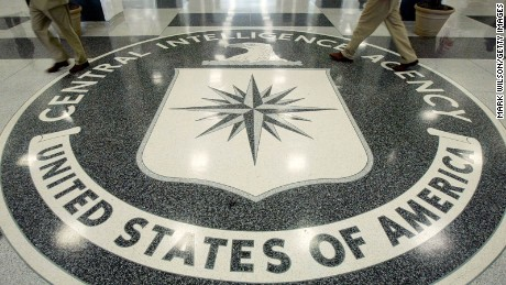 The CIA symbol is shown on the floor of CIA Headquarters, July 9, 2004 at CIA headquarters in Langley, Virginia. Earlier today the Senate Intelligence Committee released its report on the numerous failures in the CIA reporting of alleged Iraqi weapons of mass destruction.  (Photo by Mark Wilson/Getty Images)