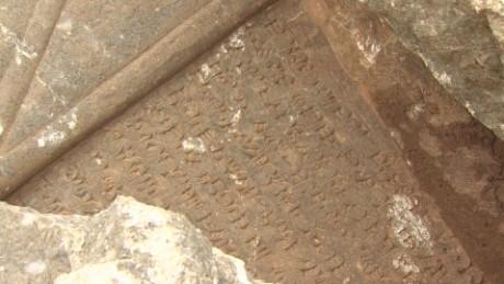 Wedeman Nimrud archaelogical site ISIS destruction pkg_00004117.jpg