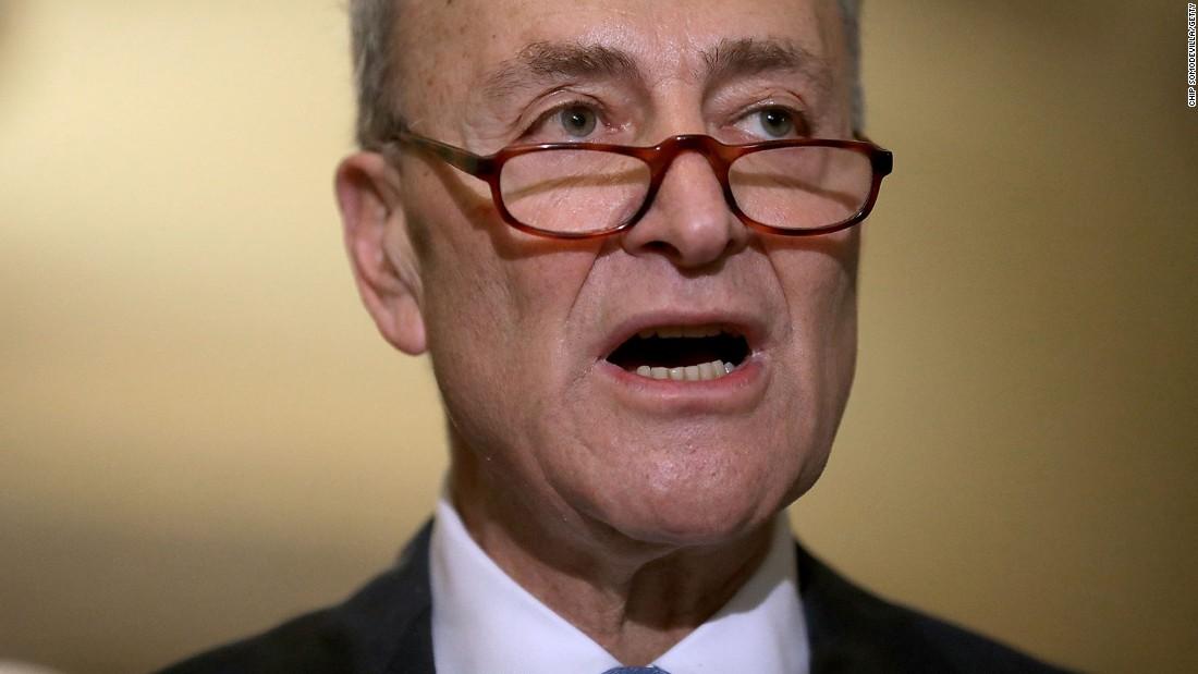 Schumer warns GOP against jamming Trump nominees through Senate
