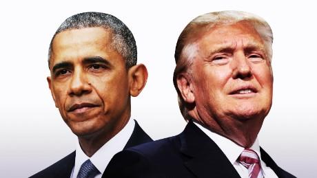 trump obama cutout split card