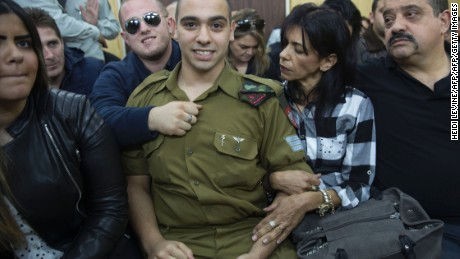 Israel divided over conviction of soldier in manslaughter case
