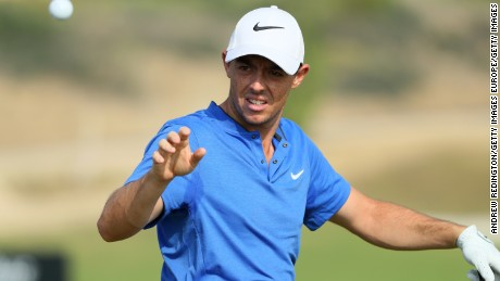 Rory McIlroy is chasing a fifth major title and first since 2014.
