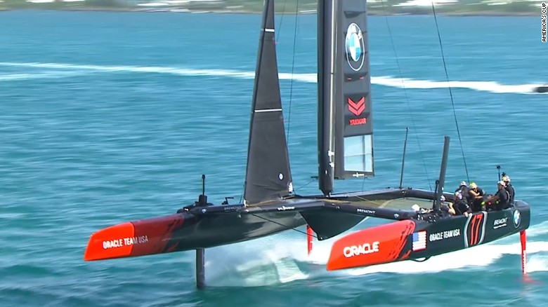 The AC45F: the boat of the 2017 America's Cup