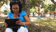 In Cuba, you can't use the Internet in private