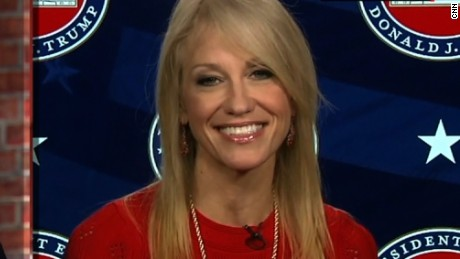 Senior adviser Kellyanne Conway discusses the US-Mexico wall