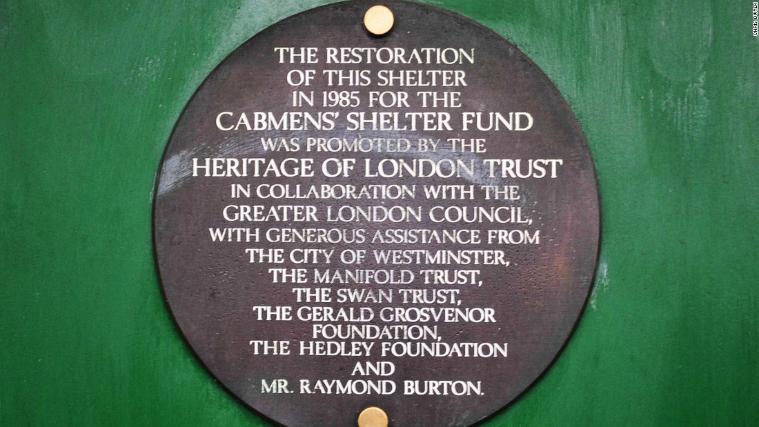 <strong>Edwardian gems: </strong>The Cabmen's Shelter Fund is the charity that today helps support the tiny network of green stands.