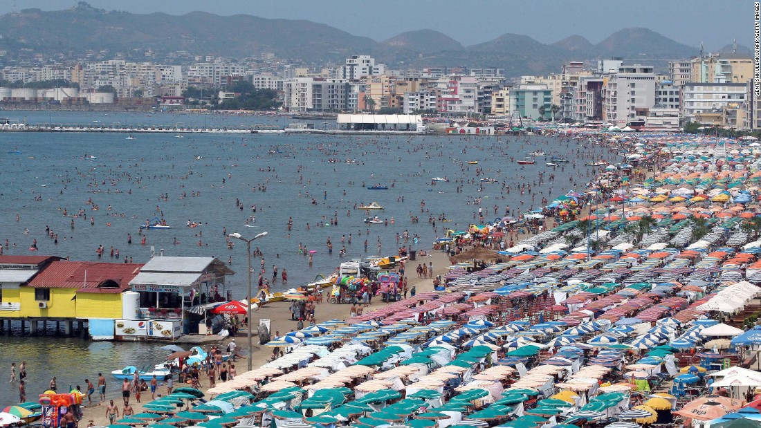<strong>Albania -- </strong>Sunny, cheap and with mile after mile of beaches (such as this one in Durres), this tiny Mediterranean country has been Europe's best-kept secret for the better part of two decades.<br />