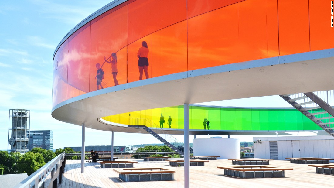 <strong>Aarhus, Denmark -- </strong>The second largest city in Denmark, Aarhus is the European Capital of Culture in 2017. The ARoS Aarhus Art Museum will be home to many of the more than 350 events being held this year.